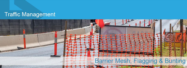 Barrier Mesh – Flagging & Bunting   Eastlink Manufacturing